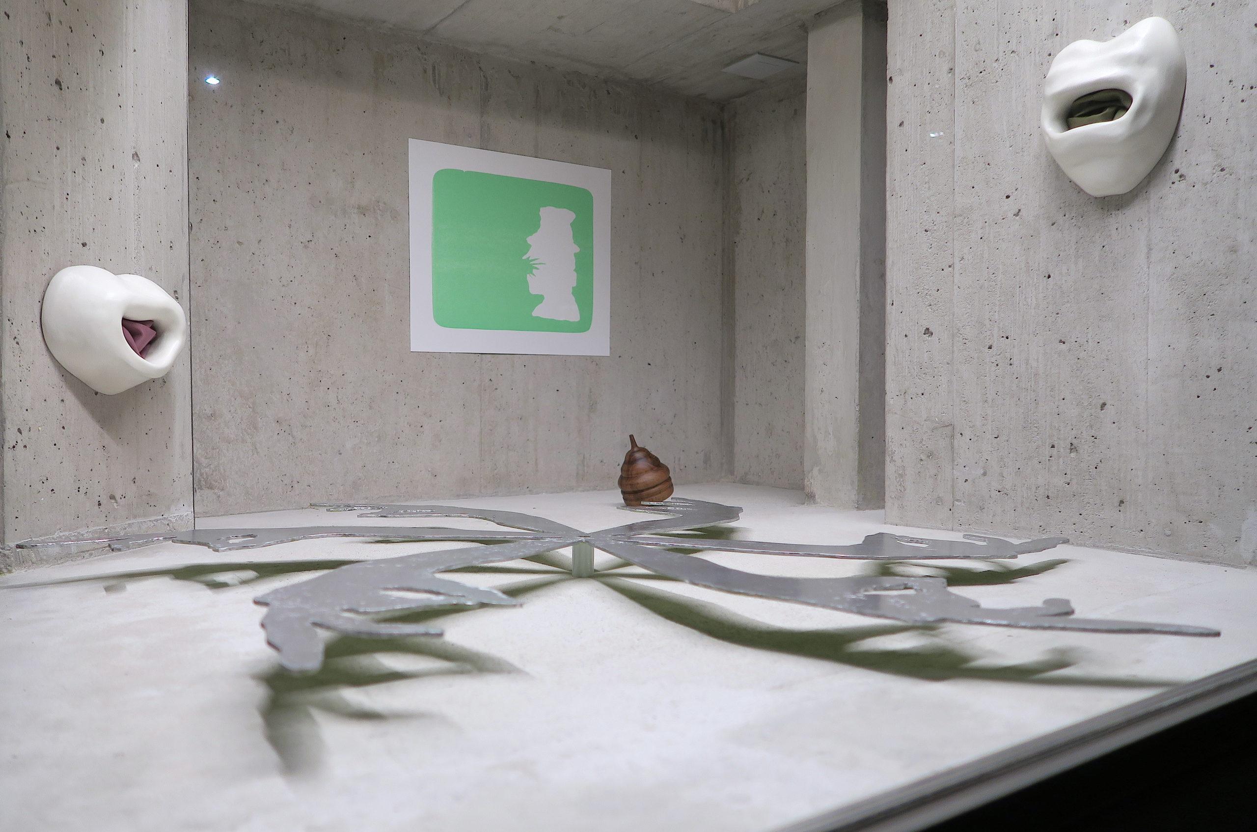 Vue de l'exposition, Dissolving Views, Gina Proenza, Lemme Art Contemporain